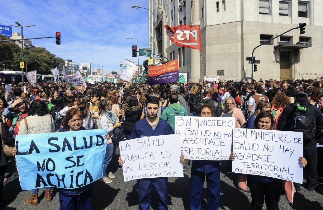 Múltiples protestas en Argentina contra el ajuste fiscal