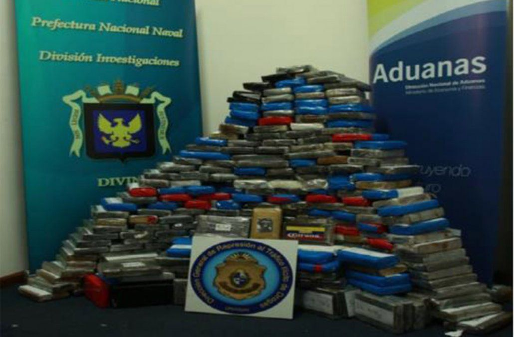 Cuatro personas formalizadas por droga encontrada en contenedor del puerto