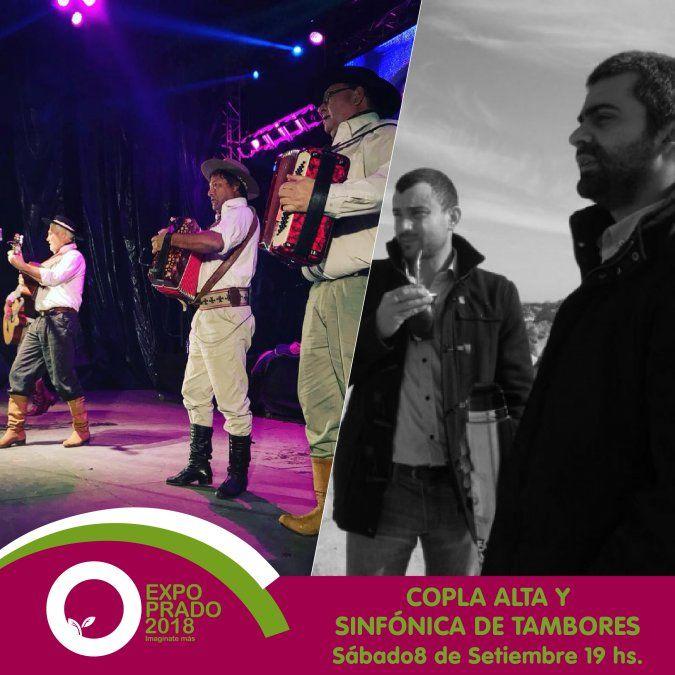 Este fin de semana Copla Alta, Sinfónica de Tambores, y Agustín Casanova en la Expo Prado