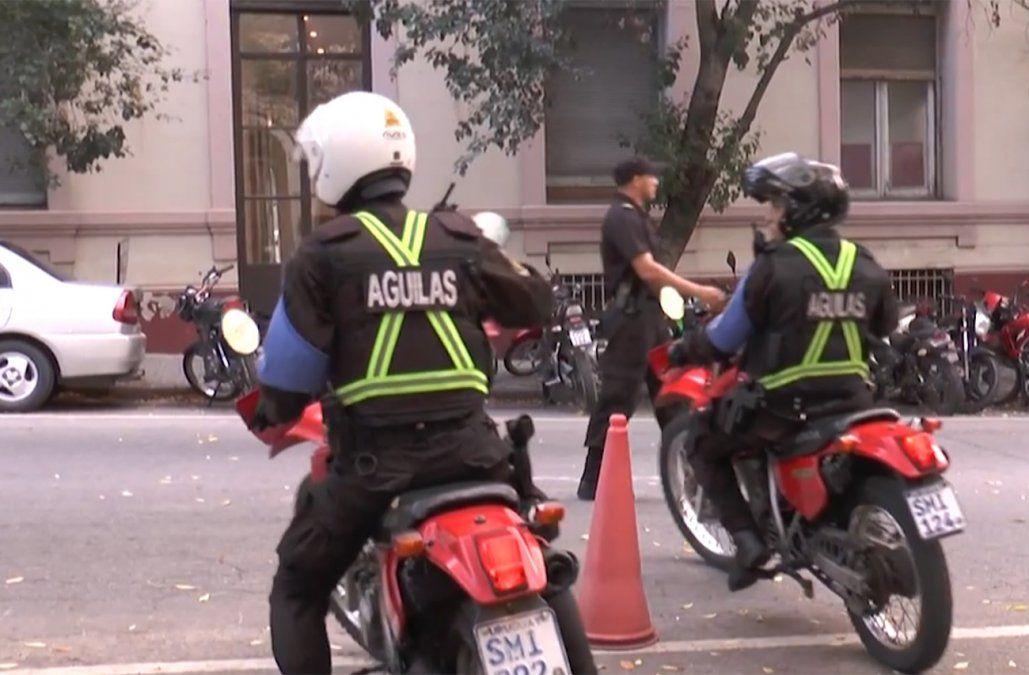 100 policías en moto se suman al patrullaje en Montevideo