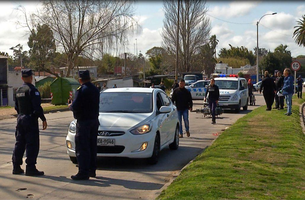 Policía herido de bala en una pierna al intentar evitar una rapiña