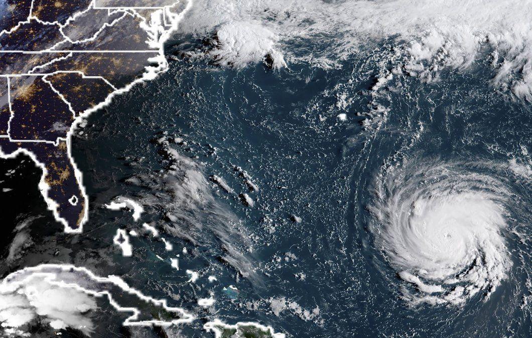 Un millón de personas deben evacuar en Carolina del Sur por huracán Florence