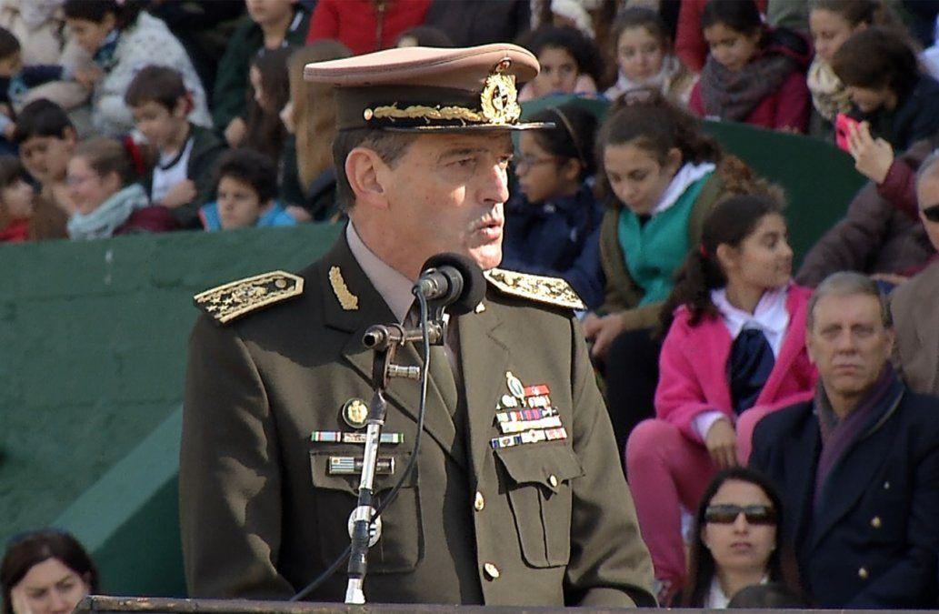 El jefe del Ejército Manini Ríos fue sancionado con arresto a rigor por 30 días