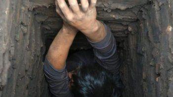 Ladrón quedó atascado en una chimenea tras ser sorprendido por la Policía