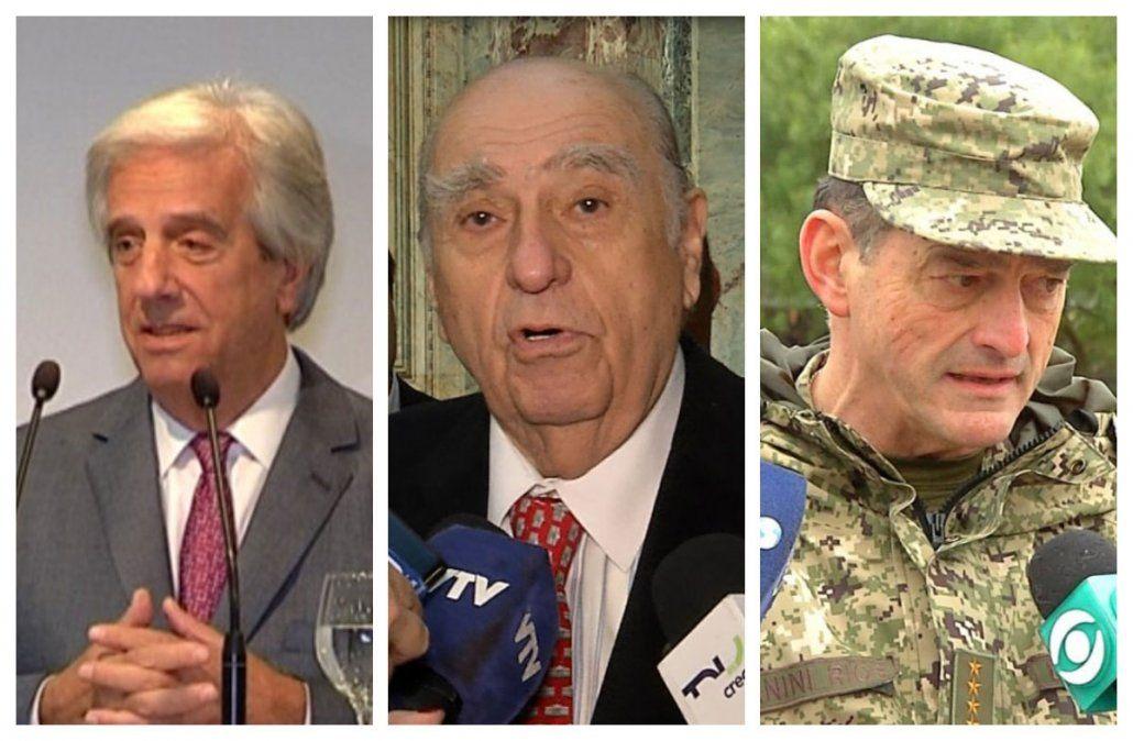 La oposición cuestionó la sanción al Jefe del Ejército y Sanguinetti señaló intento de humillación