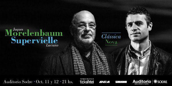 Morelenbaum & Supervielle juntos presentando Clássica nova