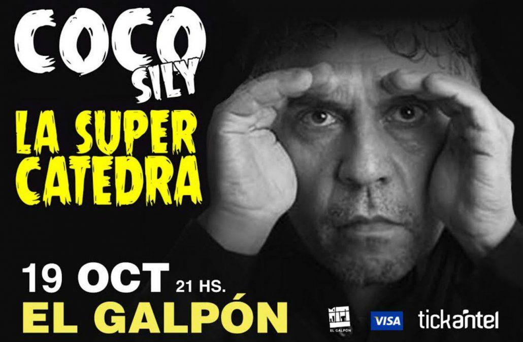 Vuelve a Uruguay el humorista argentinoCoco Sily