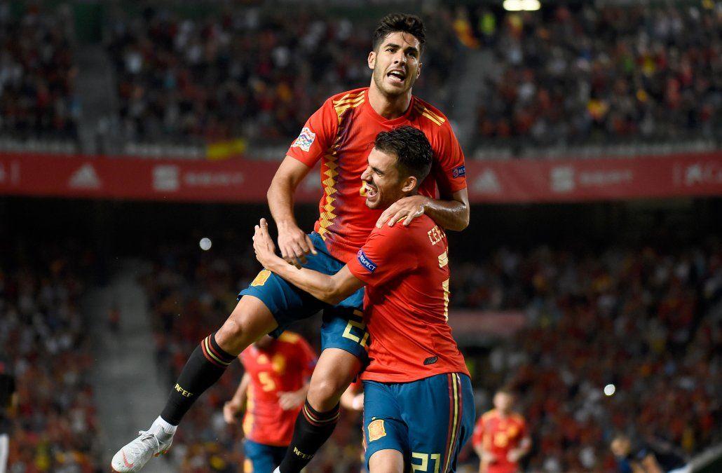 España se da un festín de goles ante Croacia y la humilló 6-0