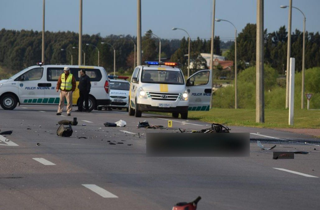 Motociclista murió tras ser atropellado por un camión de la Fuerza Aérea