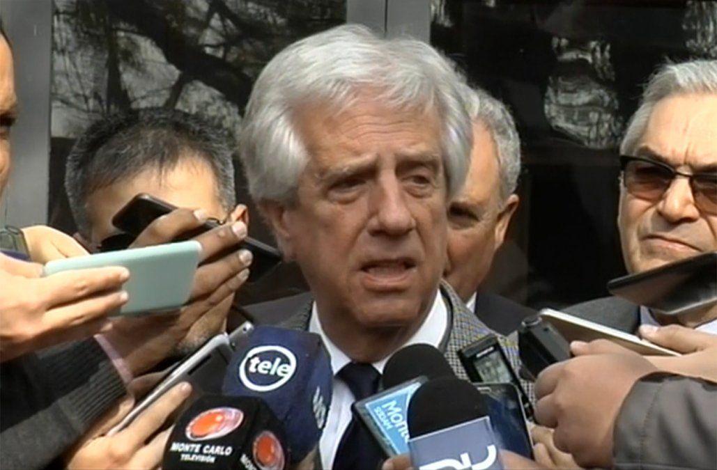 Tabaré Vázquez dijo que Manini Ríos seguirá en su cargo porque no hay falta de confianza