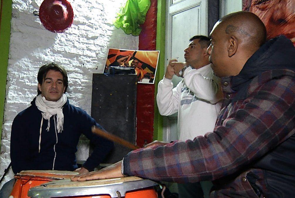 Comparsa Mi Morena imparte talleres de percusión para sordos
