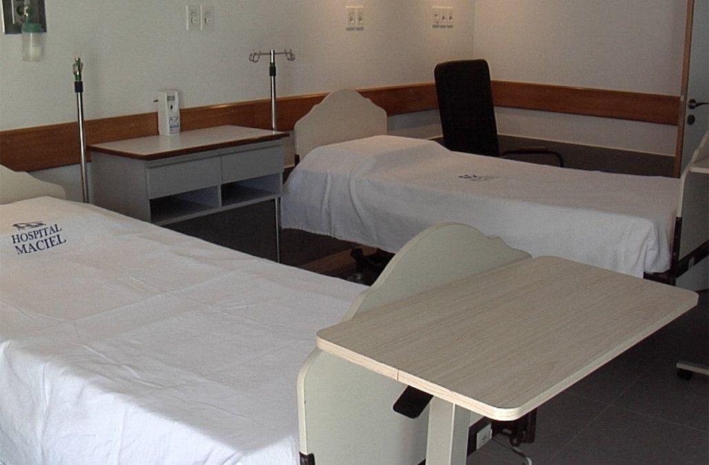 Hospital Maciel inauguró nuevas salas de internación con baño privado, TV y aire acondicionado