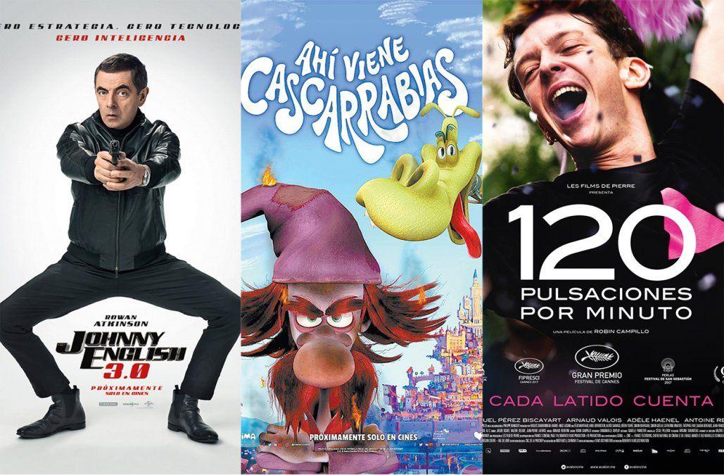 Vacaciones con estrenos: cartelera de cine para esta Primavera