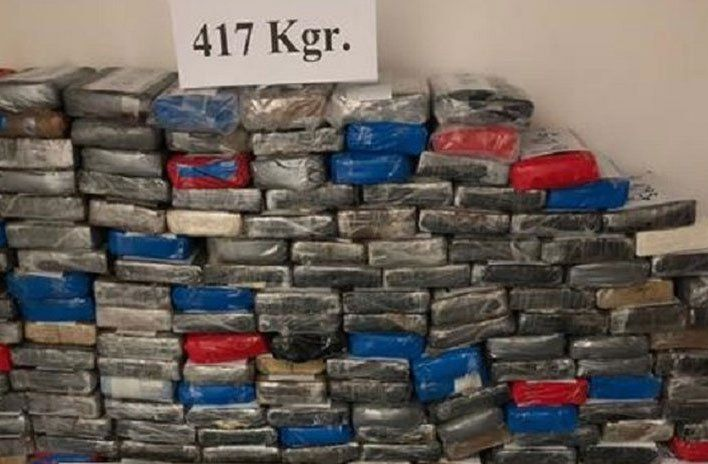 Atraparon al capo narco que pretendía sacar del país 417 kilos de cocaína