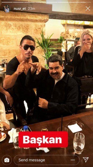 Maduro se dio la gran fiesta en un restaurante turco y la oposición estalló de indignación
