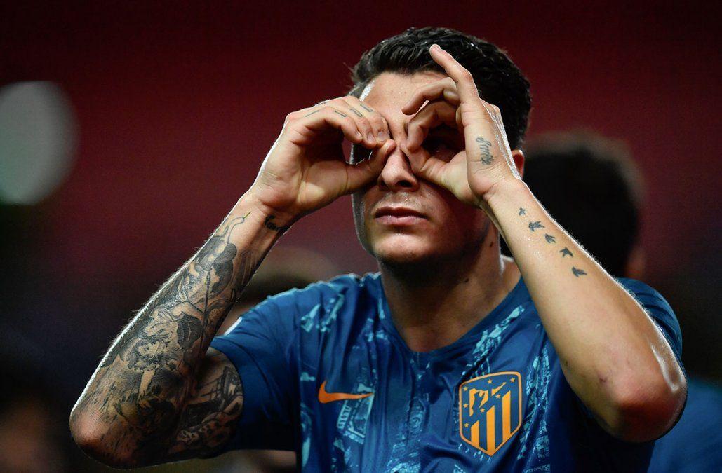 Josema Giménez le dio el triunfo al Atlético sobre el Mónaco