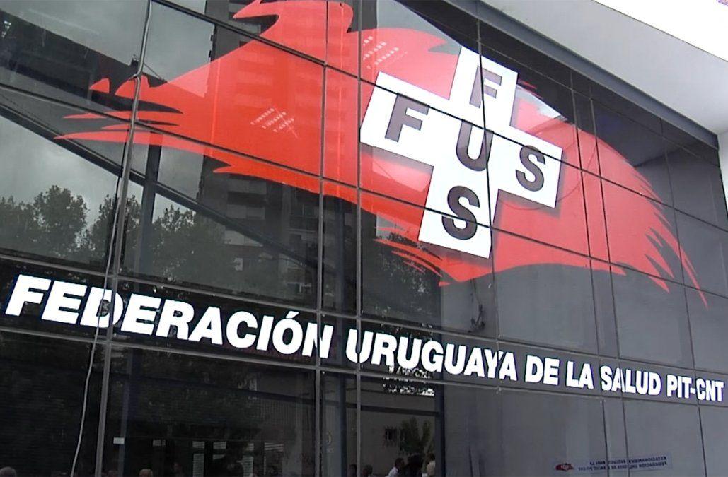 Federación de la Salud realiza un paro este jueves con movilización en Montevideo