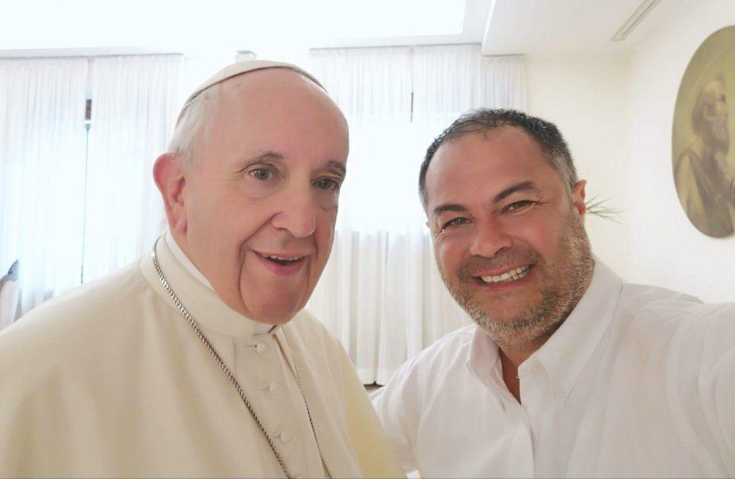 El Papa Francisco con Omar