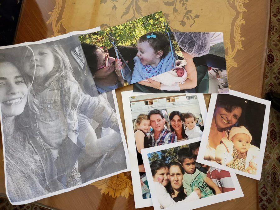 Fotografías de los amigos de Noelia por los que agradeció al Papa en la audiencia