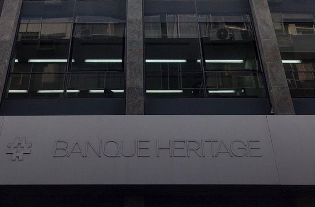 Acuerdo de dos años y medio de prisión por estafa del Banco Heritage por US$ 20 millones