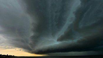 Inumet advierte sobre tormentas fuertes desde el sábado de noche