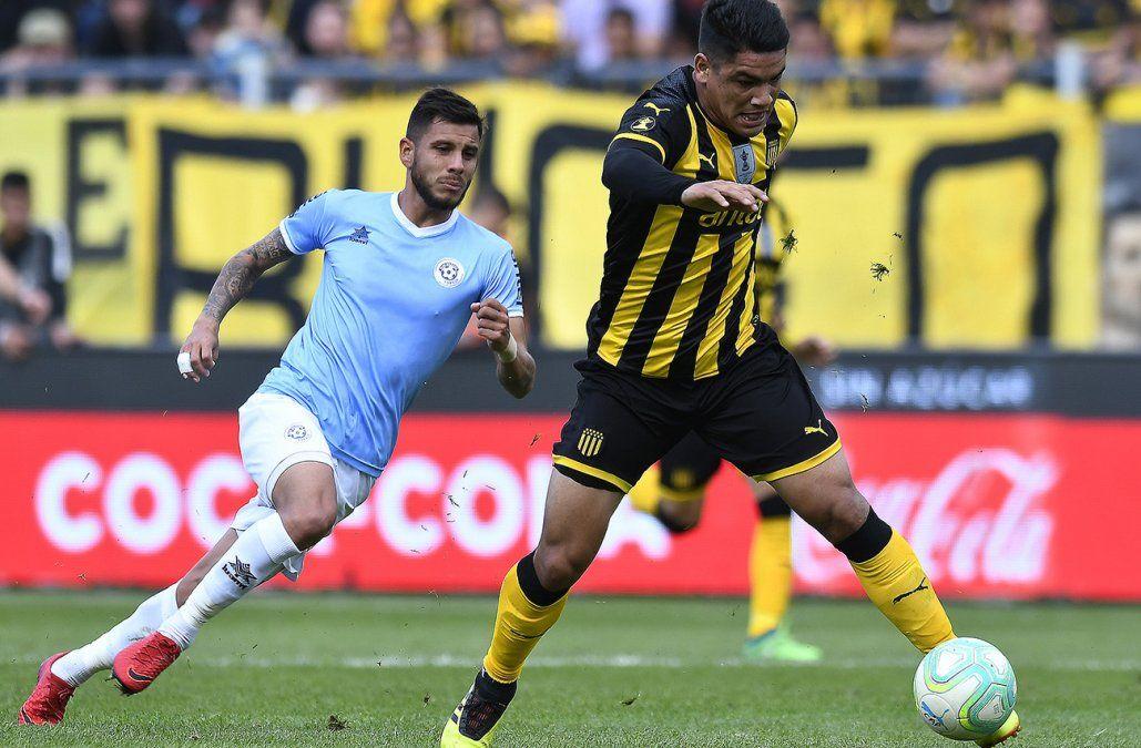 Peñarol y Torque empataron por la décima fecha del Clausura
