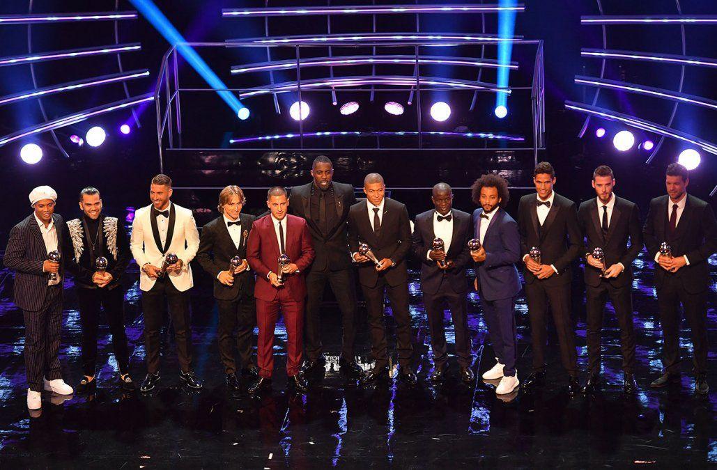 Sin uruguayos en el equipo ideal del mundo elegido por el gremio de futbolistas