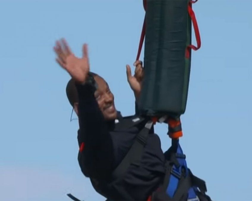 Will Smith con toda la adrenalina de cumplir 50.
