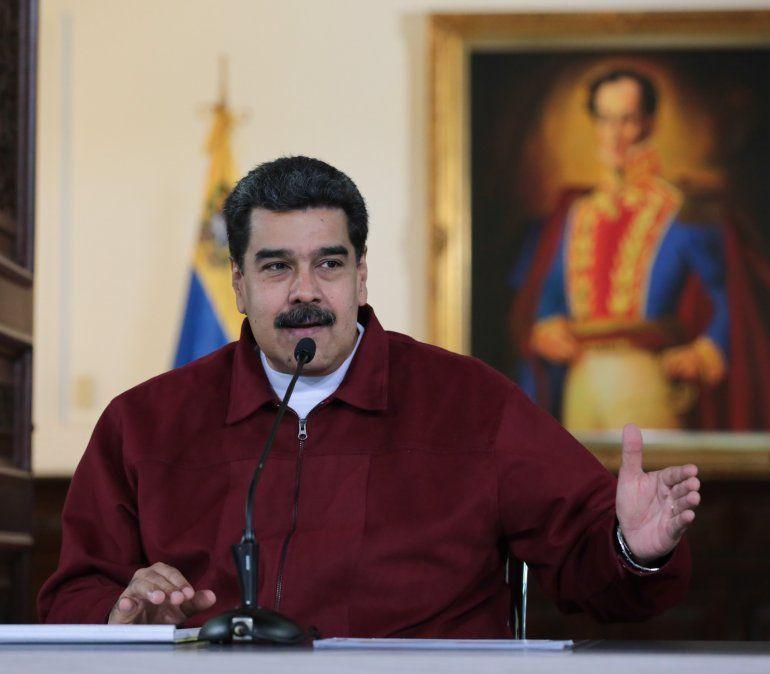 Venezuela acusa a Trump de promover una insurrección militar contra Maduro