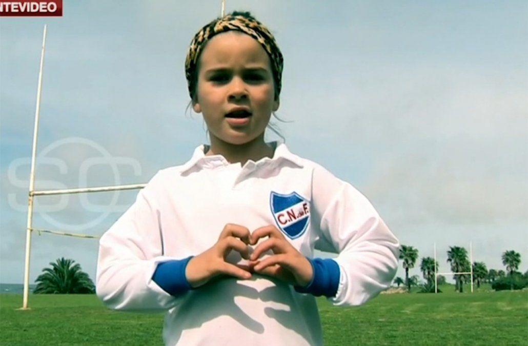 Mahia Macías juega en Nacional entre varones, fue capitana y marcó un gol en el clásico