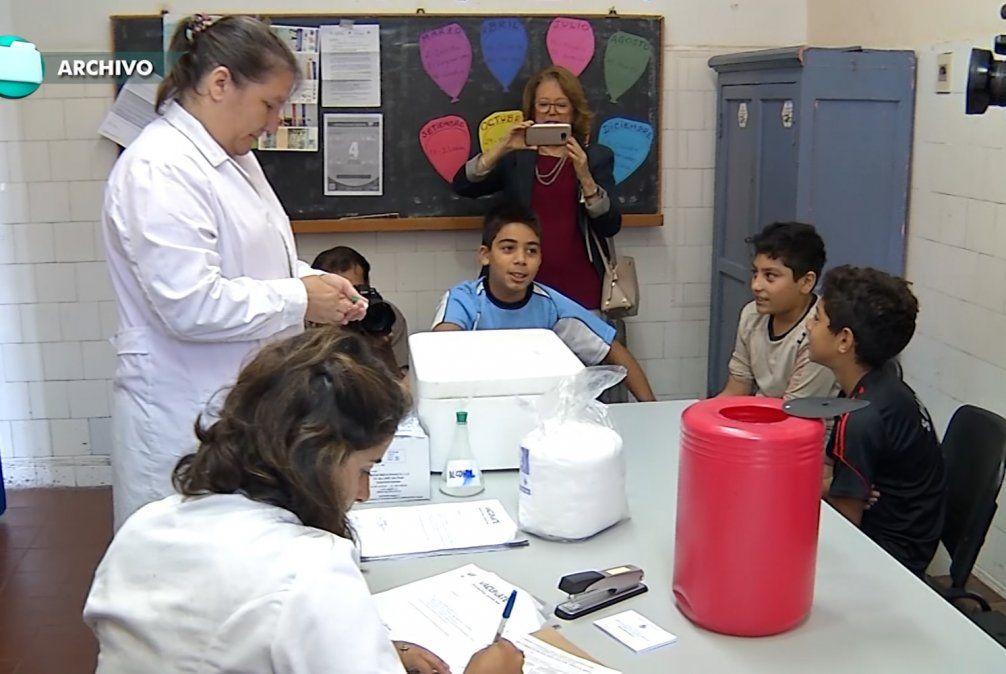 Anuncian comienzo de la segunda tanda de vacunación contra el HPV en las escuelas