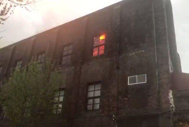 Un rayo causó incendio en Casa de los Artesanos de Melo