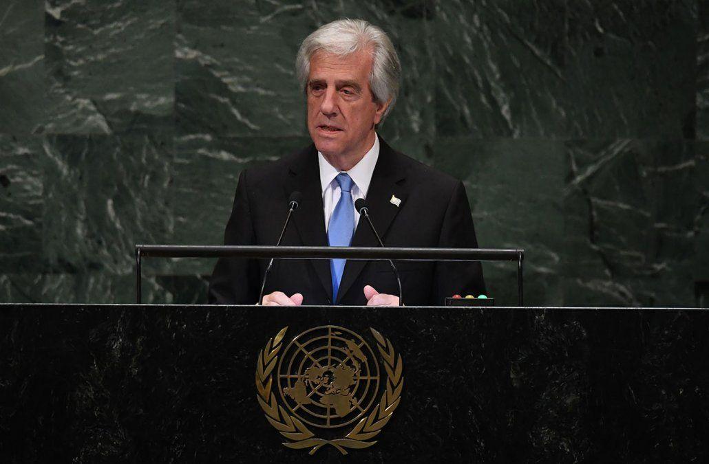 Vázquez se molestó por pregunta sobre Venezuela