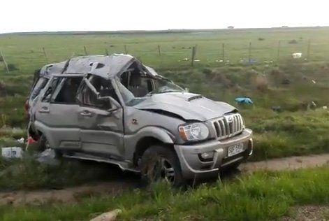 Accidente en Melo: murió un conductor del Ministerio de Industria