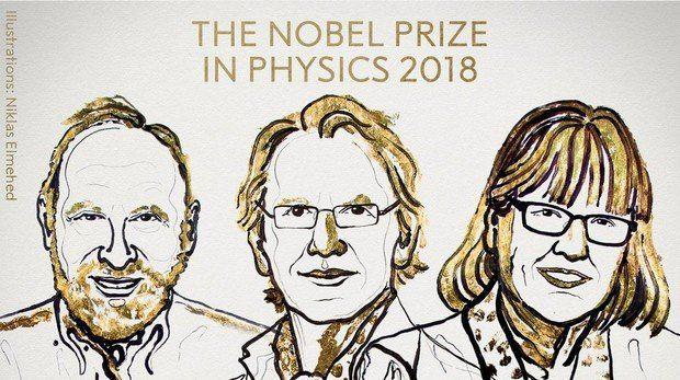 Dos hombres y una mujer reciben el Premio Nobel de Física por desarrollo de herramientas de luz