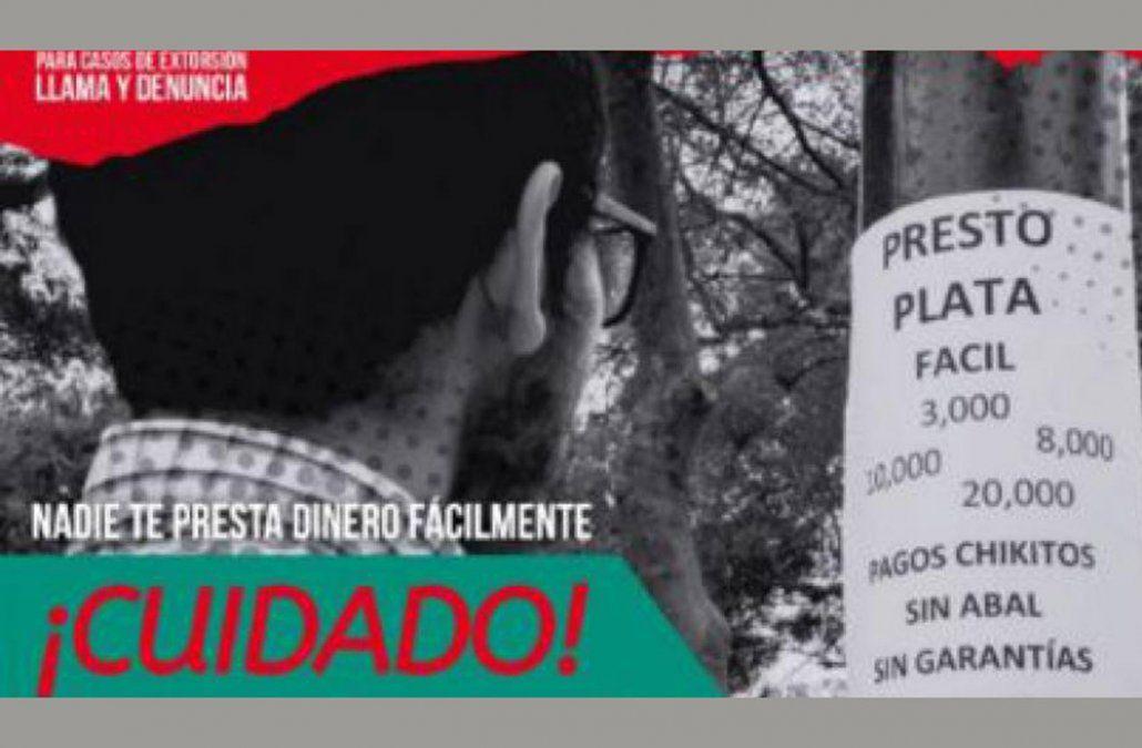 Campaña peruana contra los préstamos gota a gota
