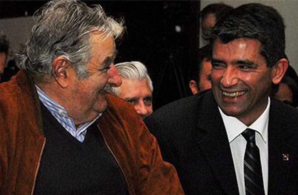 Mujica y Sendic, juntos en un acto de la Lista 711 este domingo