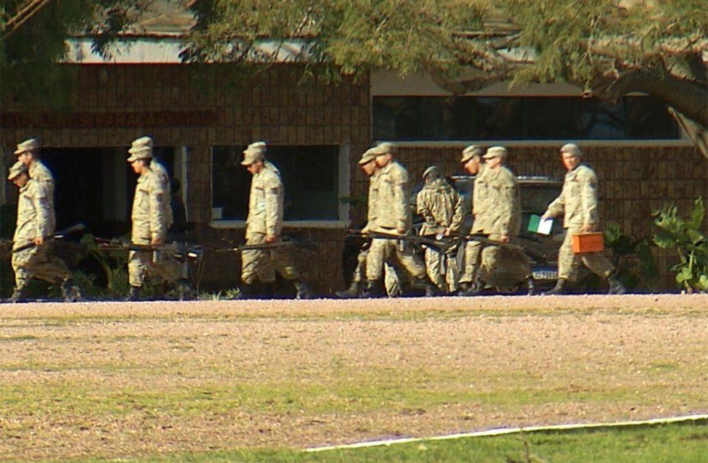 Defensa anunció su respaldo a las excavaciones en el Batallón 14 de Toledo