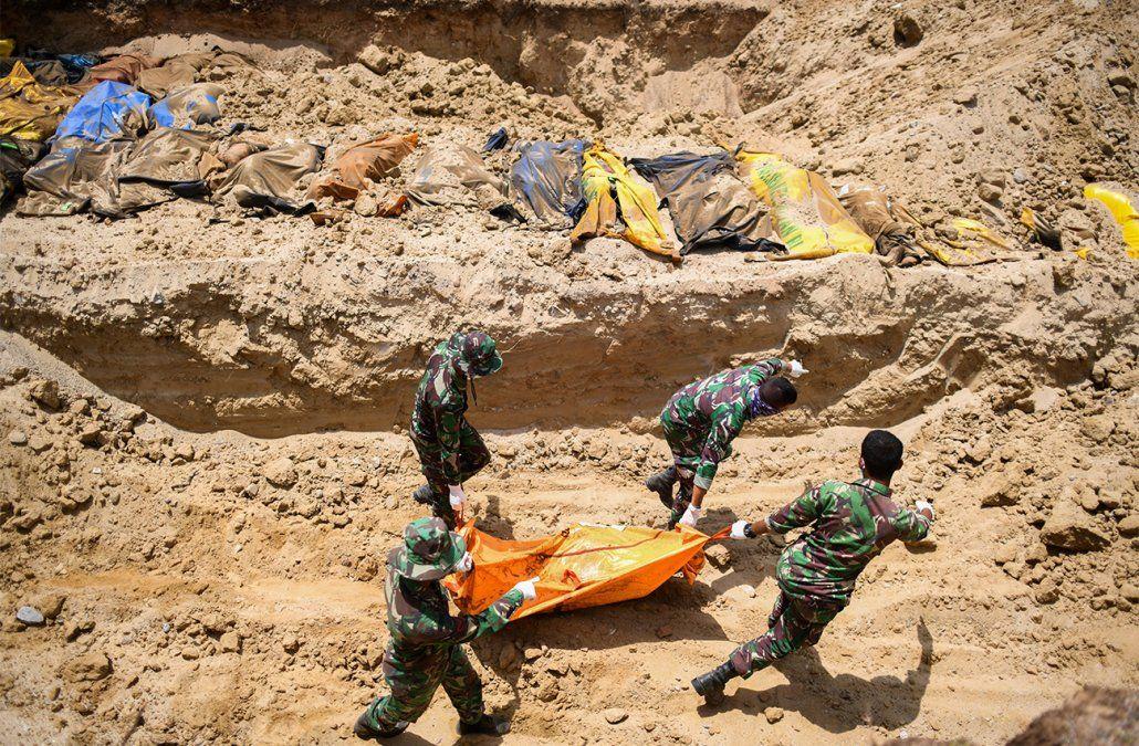 Más de 1.400 muertos por el terremoto en Indonesia