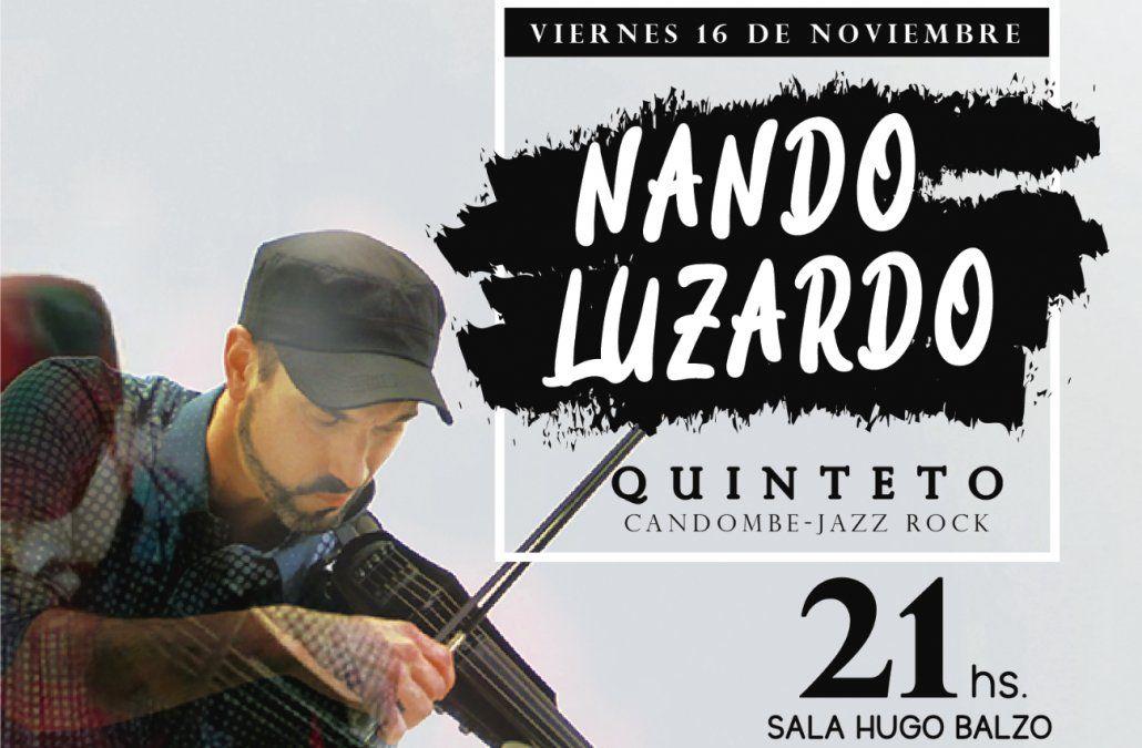 Nando Luzardo presenta Candombe Jazz rock