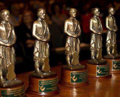 Este sábado se entregan los premios Bartolomé Hidalgo 2018