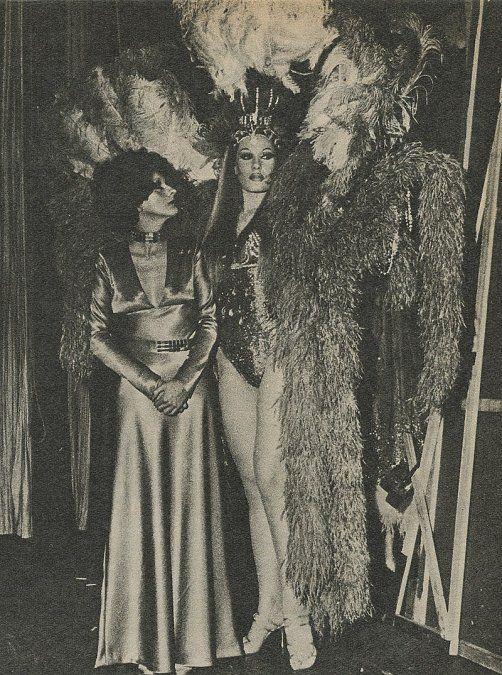 Con Norma Pons en el Maipo (1970)
