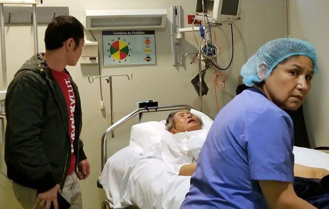 Fujimori graba video diciendo que si vuelve a prisión será una condena a muerte