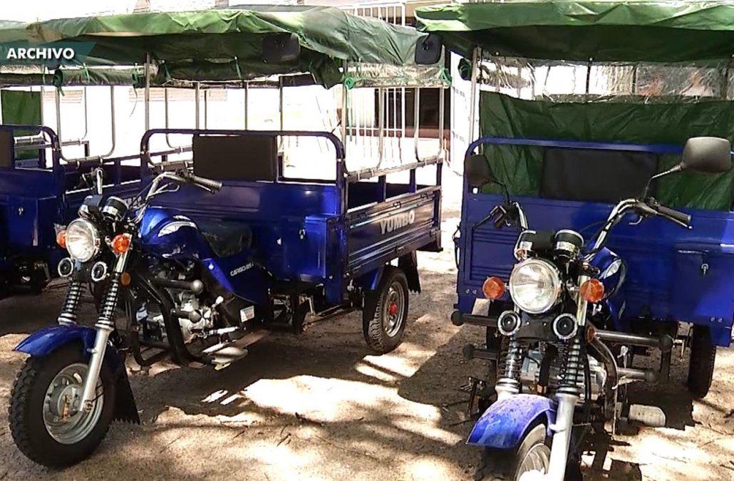 Siete clasificadores recibirán un motocarro a cambio de su carro y su caballo