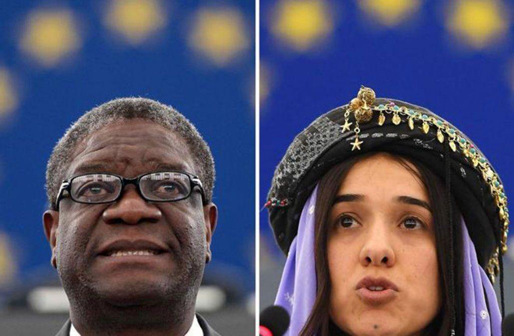 Denis Mukwege y Murad ganaron entre 331 seleccionados para el premio