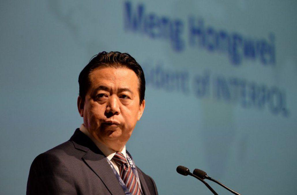 Interpol pide a China que aclare dónde está jefe desaparecido en setiembre
