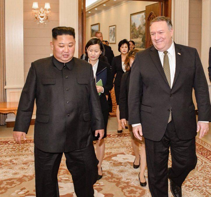 Pompeo y Kim acuerdan nueva cumbre entre Norcorea y EEUU
