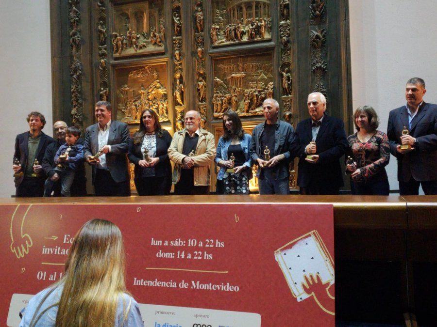 Noche de premios para las letras uruguayas