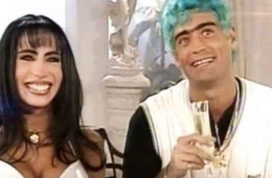 Maritxa y El Potro almorzando con Mirtha Legrand de Tinayre en 1999