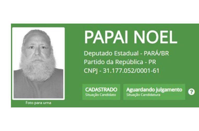 Papá Noel fracasó en su intento de llegar a Brasilia como legislador